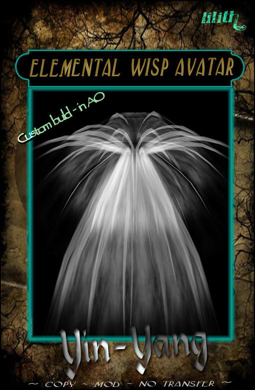 LD - ELEMENTAL WISP AVATAR - Yin Yang THF 2015 Gift