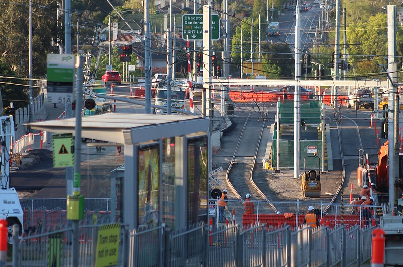 Gardiner level crossing removal works