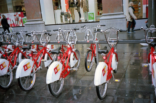 Antwerp city bikes