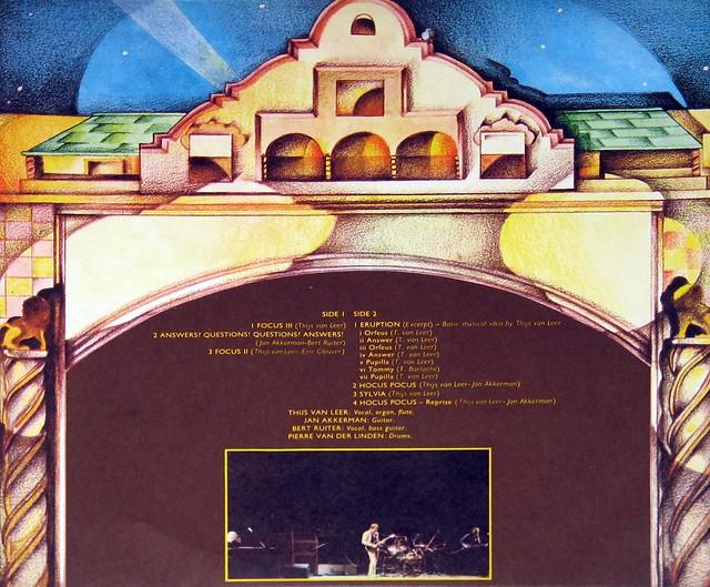 """Focus - Focus Live At the Rainbow 12"""" Vinyl LP"""