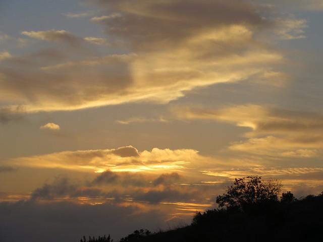 sunset over Zuma