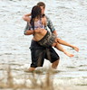 Miley Liam making out on beach by miamhemsworth1