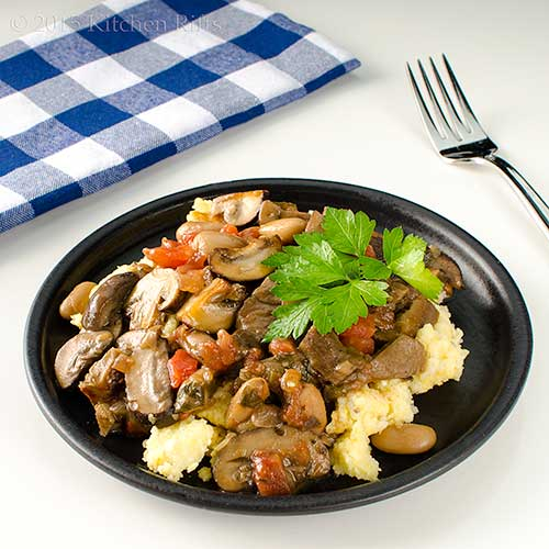 recipe mushroom and white bean ragout mushroom ragouts are common