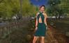 Rock Your Rack 2015_ Dulce Secret (Azami Shape), LoveMe Skin (Bold Purple Lipstick), Maci (Miranda Dress in Teal), Lyrical B!zarre Templates (Jolie Earrings), Zuri (Pink Surreal Opal Moon Bracelets) by Hidden Gems in Second Life (Interior Designer)