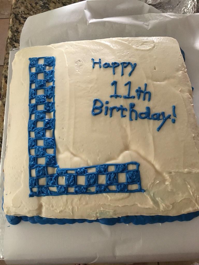 L Birthday Cake