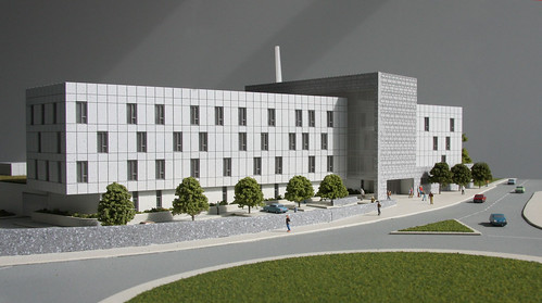 A model of the new new Galway Garda Divisional and Regional Headquarters