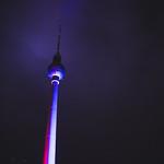 Berliner Fernsehturm - Festival of Lights