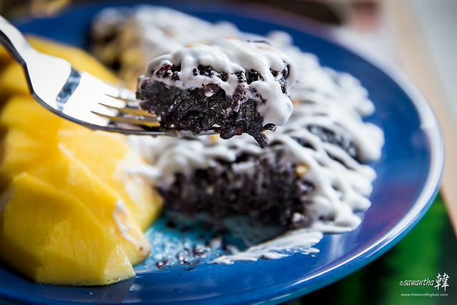 Gin Khao - MANGO WITH BLACK STICKY RICE