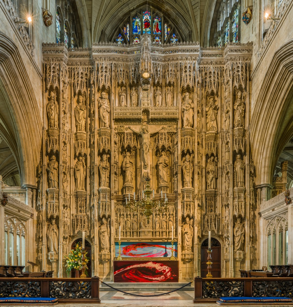 Winchester Cathedral - The High Altar. Credit: David Iliff