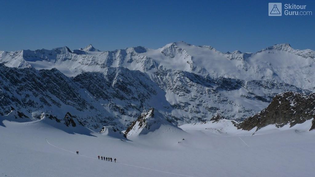 Hinterer Seelenkogel 3472 m, Langtalerechhütte, Ötztaler Alpen, Obergurgl, Tirol, Austria, http://skitourguru.com/tura/11-hinterer-seelenkogel