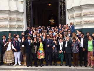 VI Foro de los Frentes Parlamentarios contra el Hambre, Lima 2015
