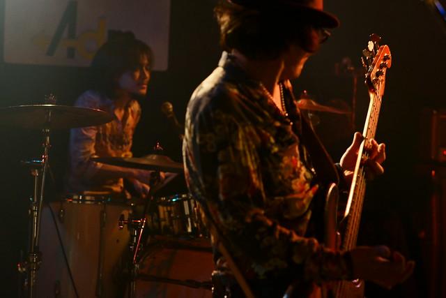 ROSE HIP GARDEN live at Adm, Tokyo, 18 Dec 2015. 246