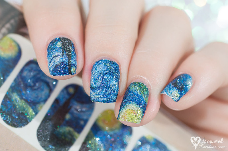 Lady Queen - The Starry Night nail foils