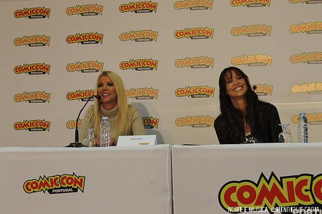 Tara Reid e Shannon Elizabeth - Comic Con Portugal '15