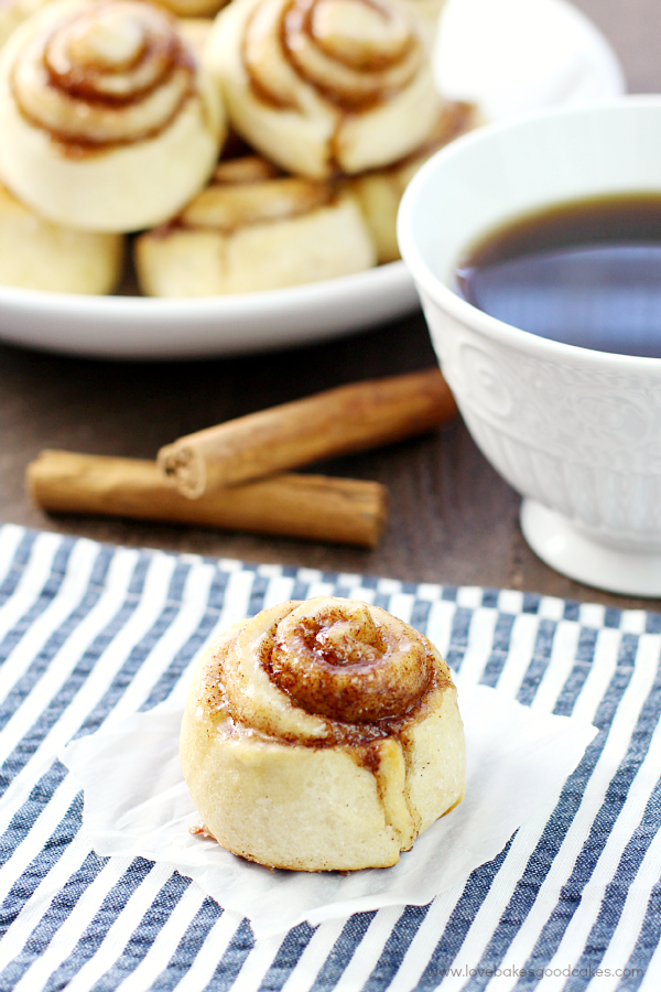 These {Quick and Easy} Cinnamon Rolls are so simple and delicious - with no yeast!! Perfect for a quick snack or addition to breakfast!
