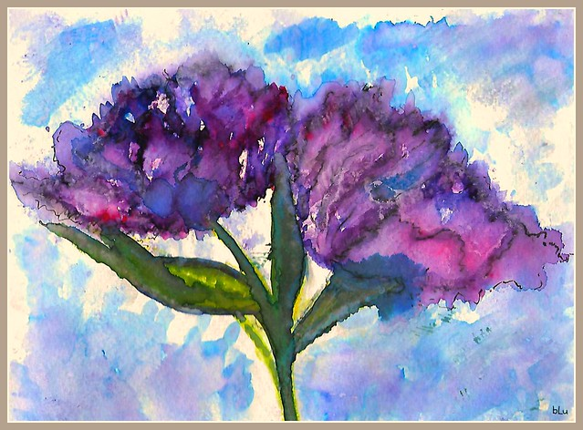 Purpletulipcard