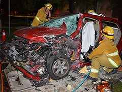 Extrication Required in NoHo Collision