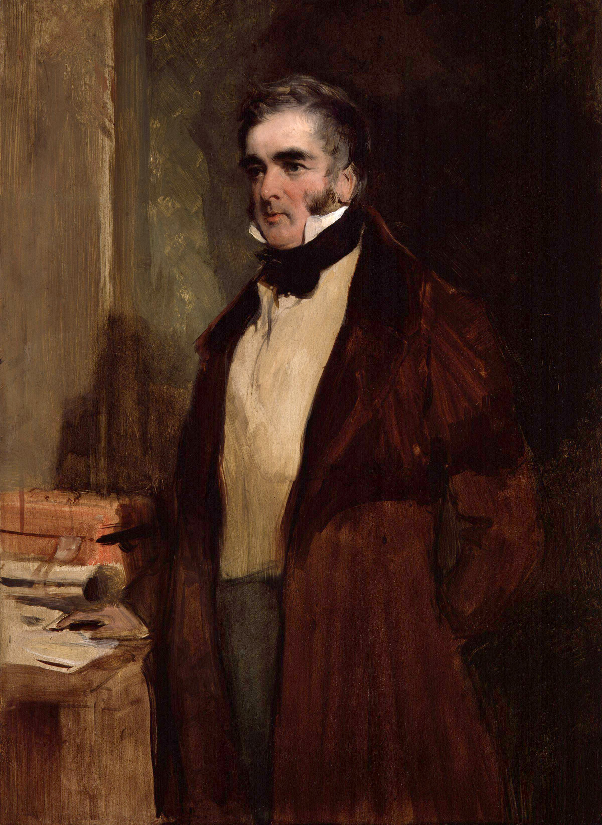 William Lamb, 2nd Viscount Melbourne, by Sir Edwin Henry Landseer