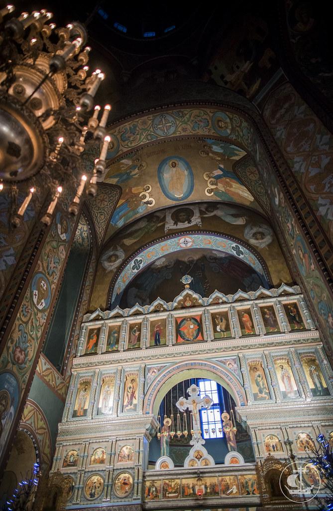 22 января 2017, Литургия в Петергофе / 22 January 2017, Divine Liturgy in Peterhof