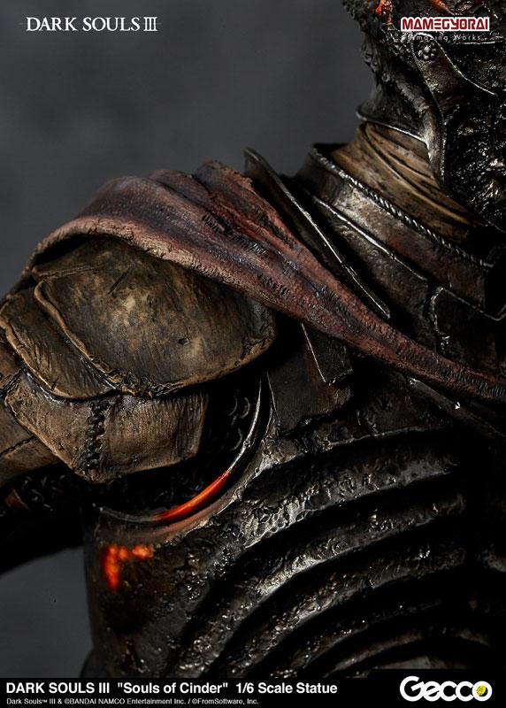 Gecco《黑暗靈魂III》薪王們的化身 王たちの化身 Soul of Cinder 1/6比例雕像