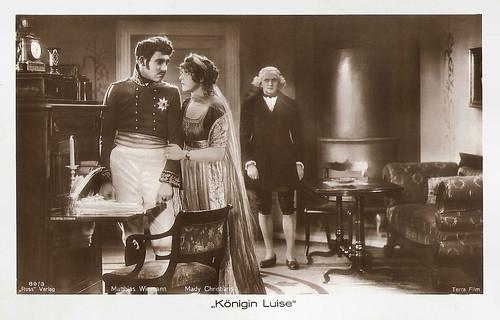 Matthias Wieman and Mady Christians in Königin Luise (1927)
