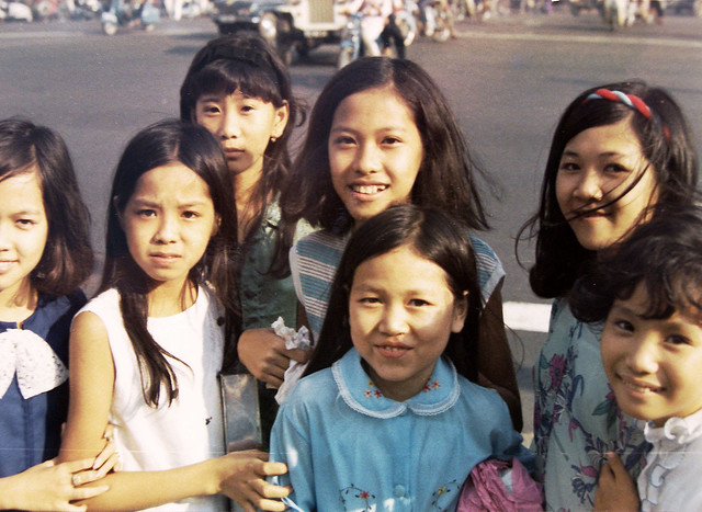 SAIGON 1971 - Photo by Dieter Wahl - Vietnamese children