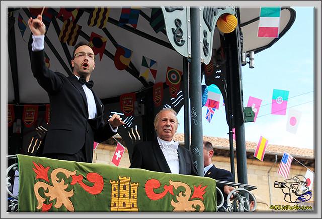 Briviesca en Fiestas 2.015 Recepción en el Ayuntamiento y canto popular del Himno a Briviesca (18)