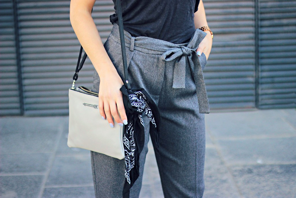 Topshop belted trousers the little magpie 3