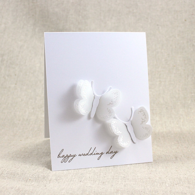 SAF2015 Bridal Challenge - Happy Wedding Day Card