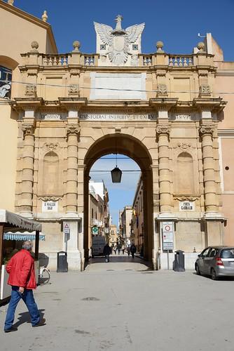 italy town europe streetscene sicily marsala