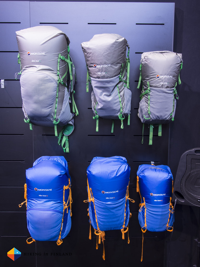 Montane Ultra Tour backpacks