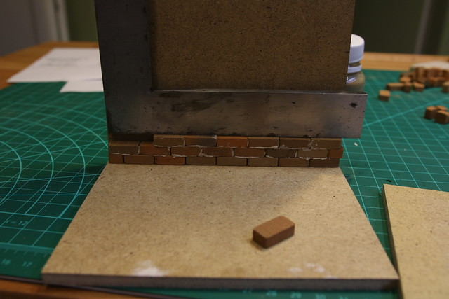 Brick wall construction