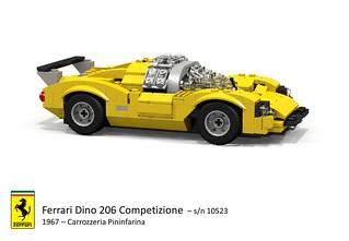 Ferrari Dino 206 Competizione (s/n 10523 Carrozzeria Pininfarina - 1967)