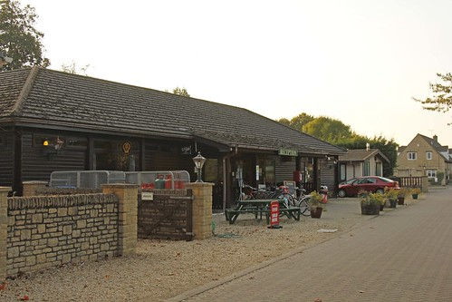 Lincoln Farm Park reception, shop and leisure centre