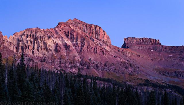 Redcliff & Coxcomb Alpenglow
