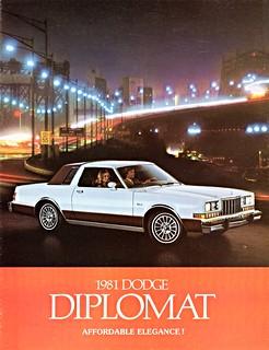 1981 Dodge Diplomat (Canada)