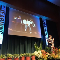 You can\'t get a better #learning2 talk intro than @ndbekah\'s today!