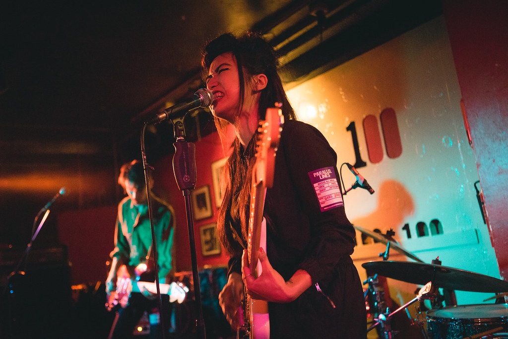 Prom supporting Girl Band at the 100 Club