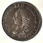 Princeton 1792 Half Disme obverse