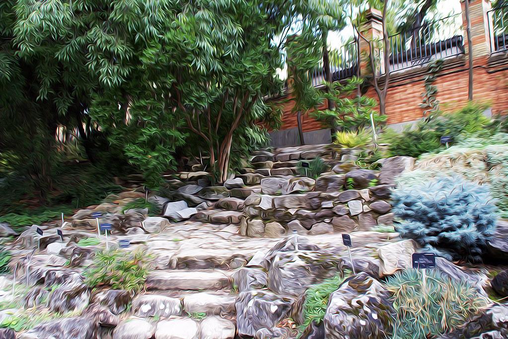 escaleras de piedras