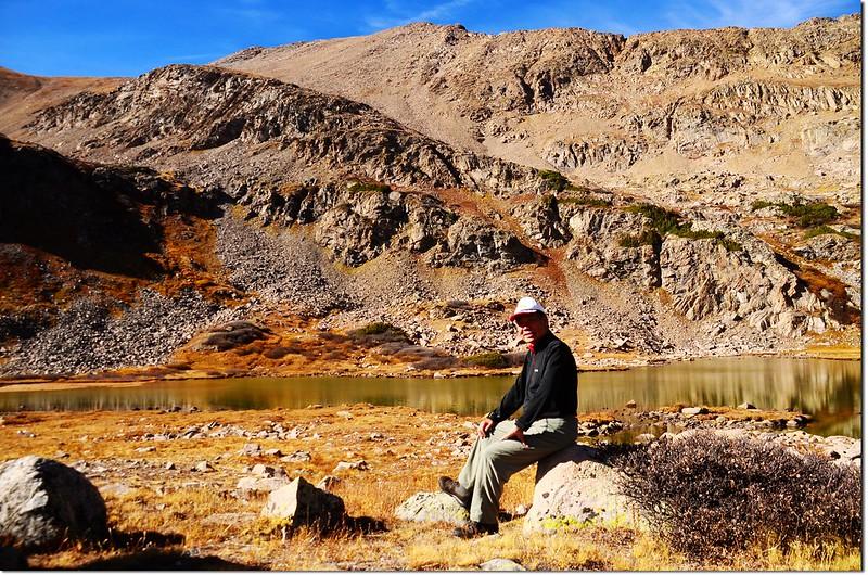 Me on the Herman Lake shore 2