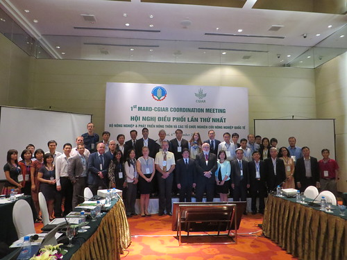 MARD-CGIAR coordination meeting in Hanoi