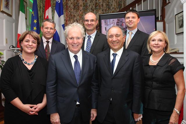 Soirée privée à la résidence de l'Ambassadeur d'Italie au Canada