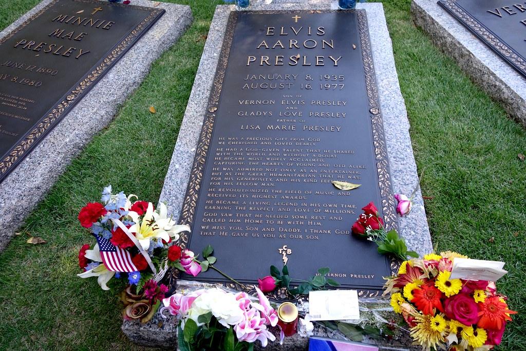 Elvis' Grave, Graceland, Memphis, Tennessee