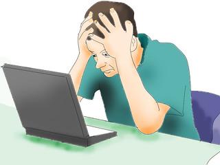 Computer study exasperation col