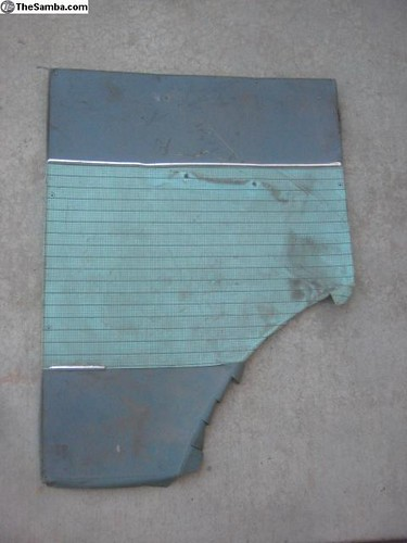 211867036D Trim panel - Side panel, lower, right, leatherette