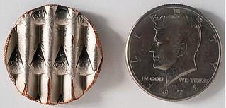 Keep the Change waffled half dollar