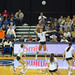 BYU Women's Volleyball - Star Player About to Spike the Ball