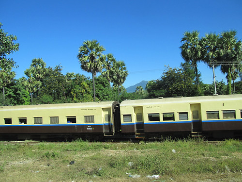 Trajet en car de Bagan à Inlé