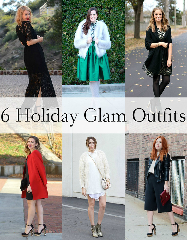 6 Glam Holiday Outfits
